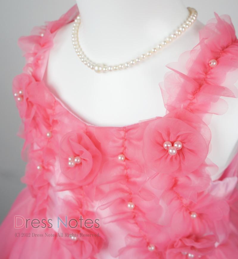 子供ドレス「アイベル」ピンク G8008-2