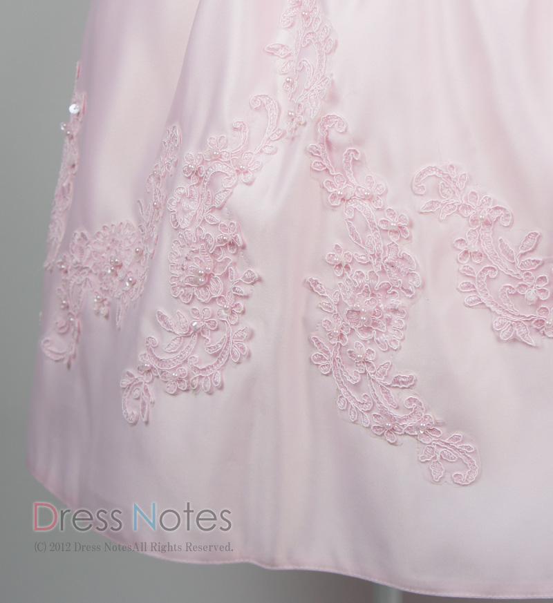 子供ドレス「ウノ」ピンク G8002-4