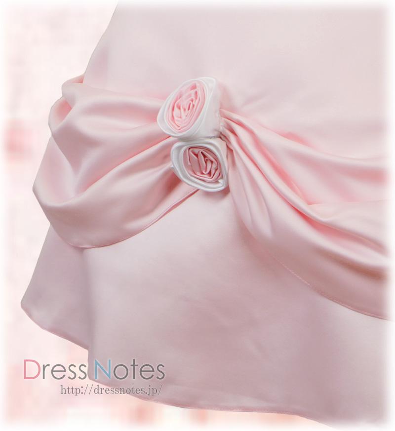 子供ドレス「シャンデリア」ピンク H8012-2