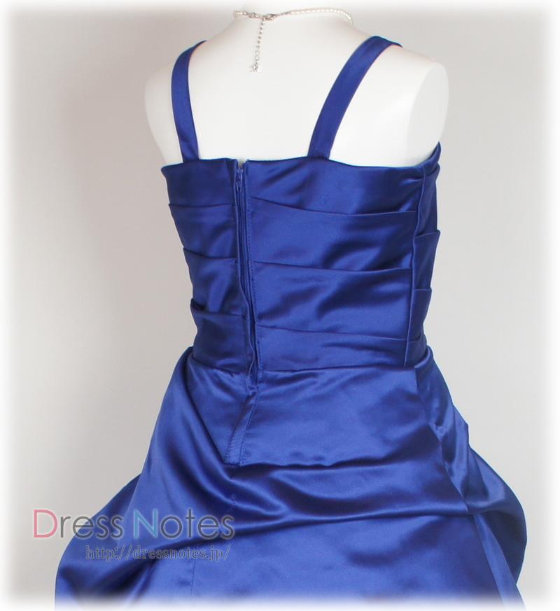 子供ドレス「ロイズ」ロイヤル・ブルー J8001-5