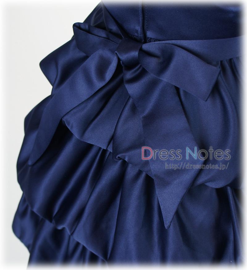 子供ドレス「クレッシェンド」ネイビー F8008-4