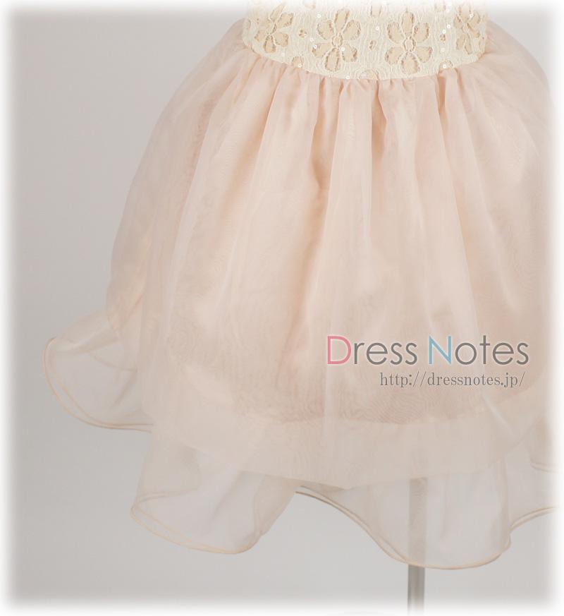 子供ドレス「タチェット」スモークピンク F8012-3