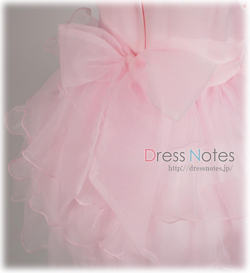 子供ドレス「ジュジアーノ」ピンク G8022-3