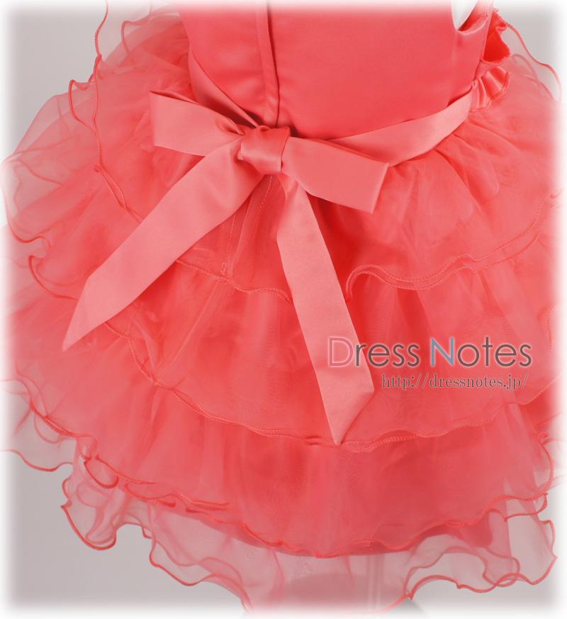子供ドレス「コンチェルティーノ」ピンク G8024-3