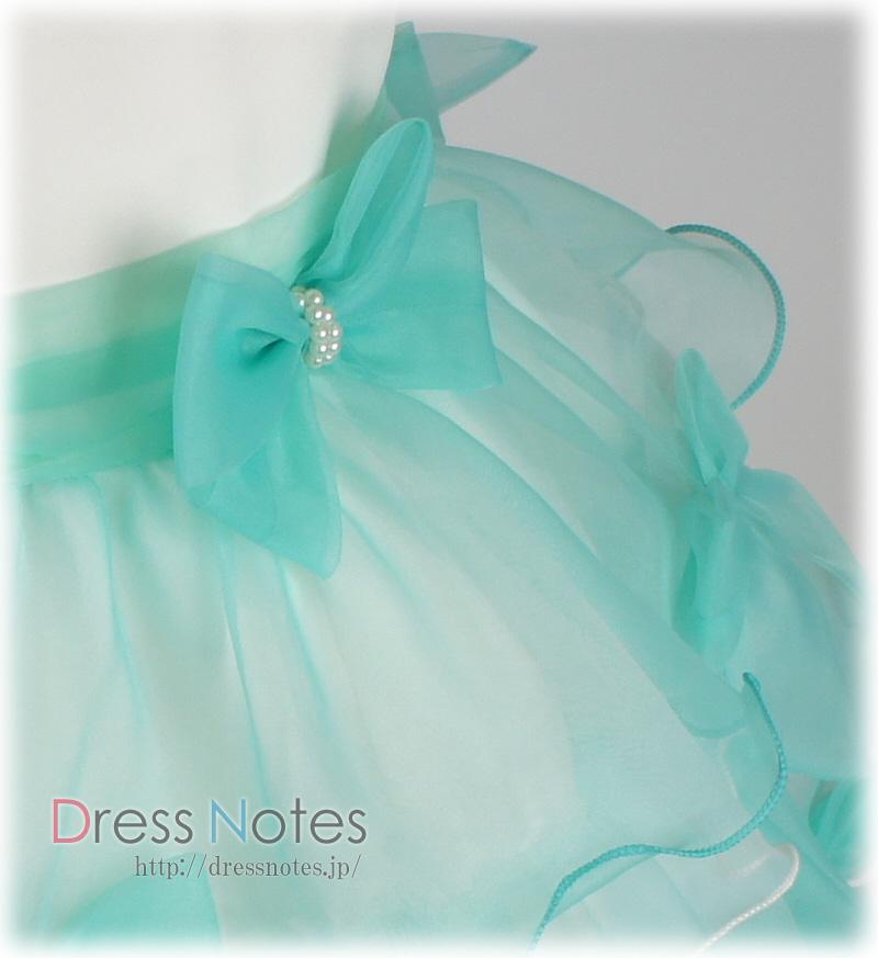子供ドレス「バダジェフスカ」グリーン G8030-2