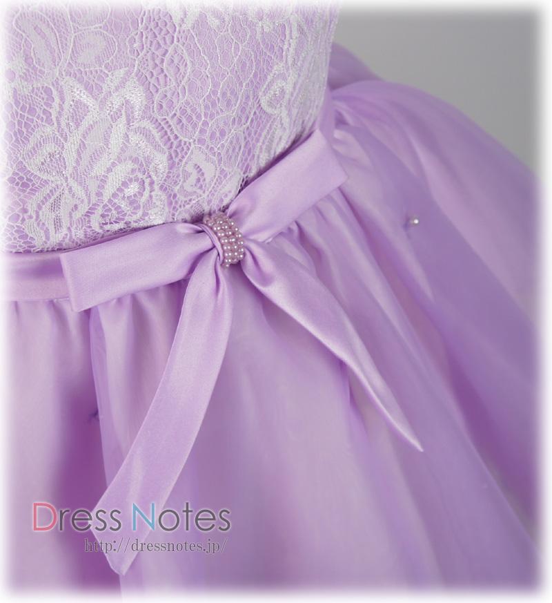 子供ドレス「シャコンヌ」バイオレット G8020-3
