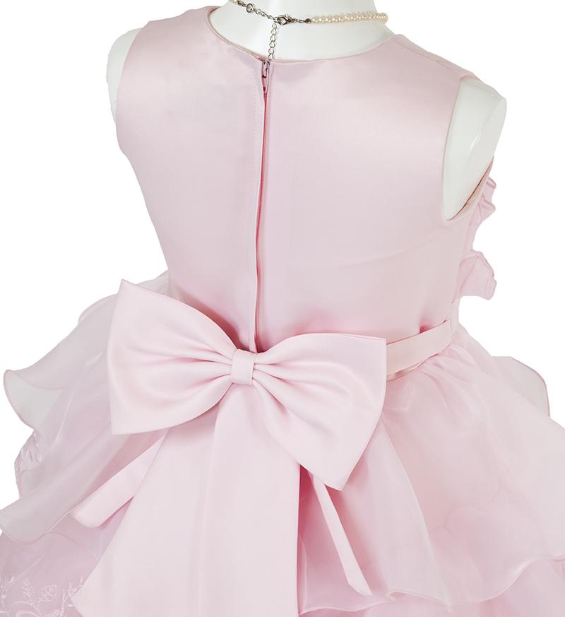 子供ドレス「リエラ」ピンク-5