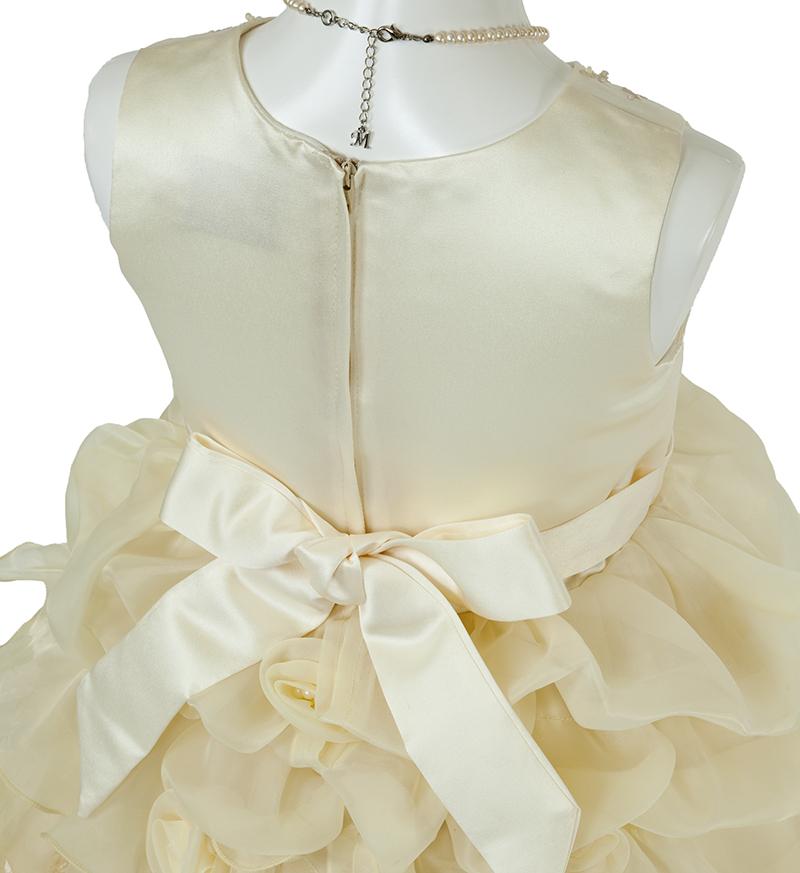 子供ドレス「ヴィエリア」ライトイエロー-5