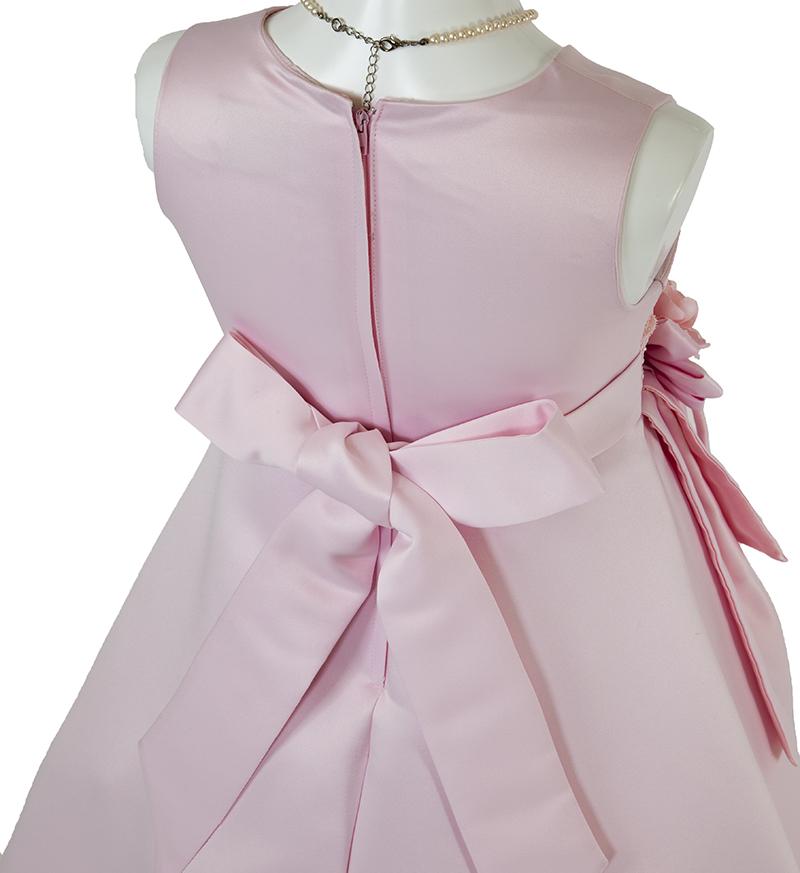 子供ドレス「ノクターン」ピンク-4