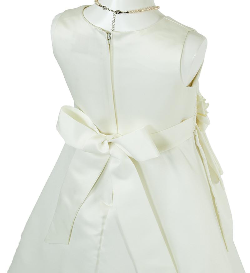 子供ドレス「ノクターン」パールホワイト-4