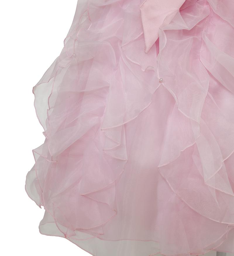 子供ドレス「サイア」ピンク-3