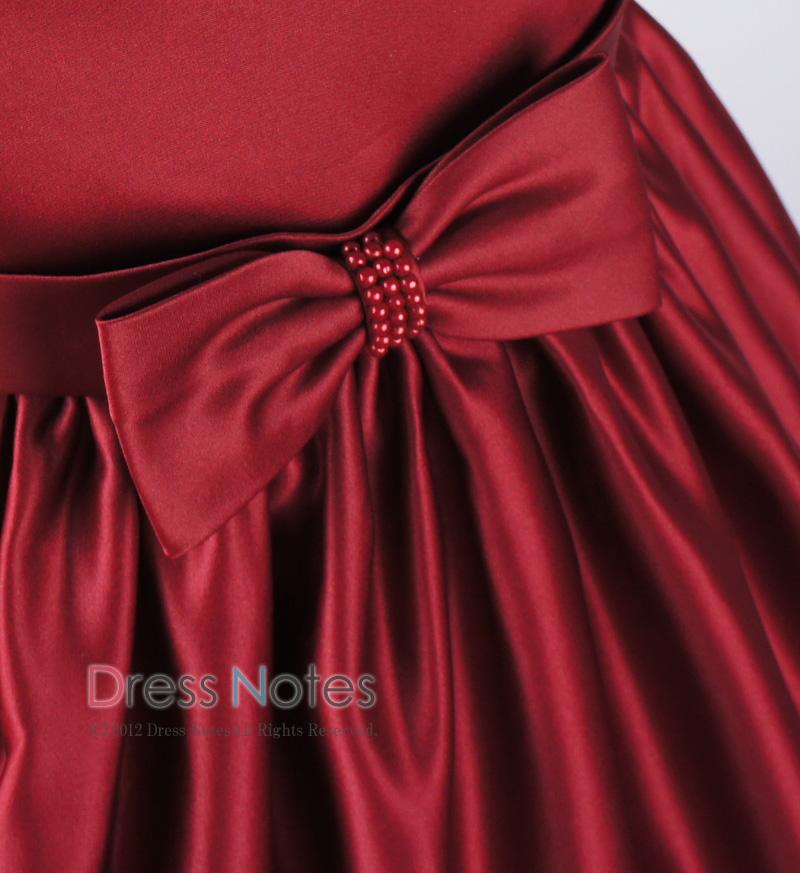 子供ドレス「マスカレード」ワイン D8021-4