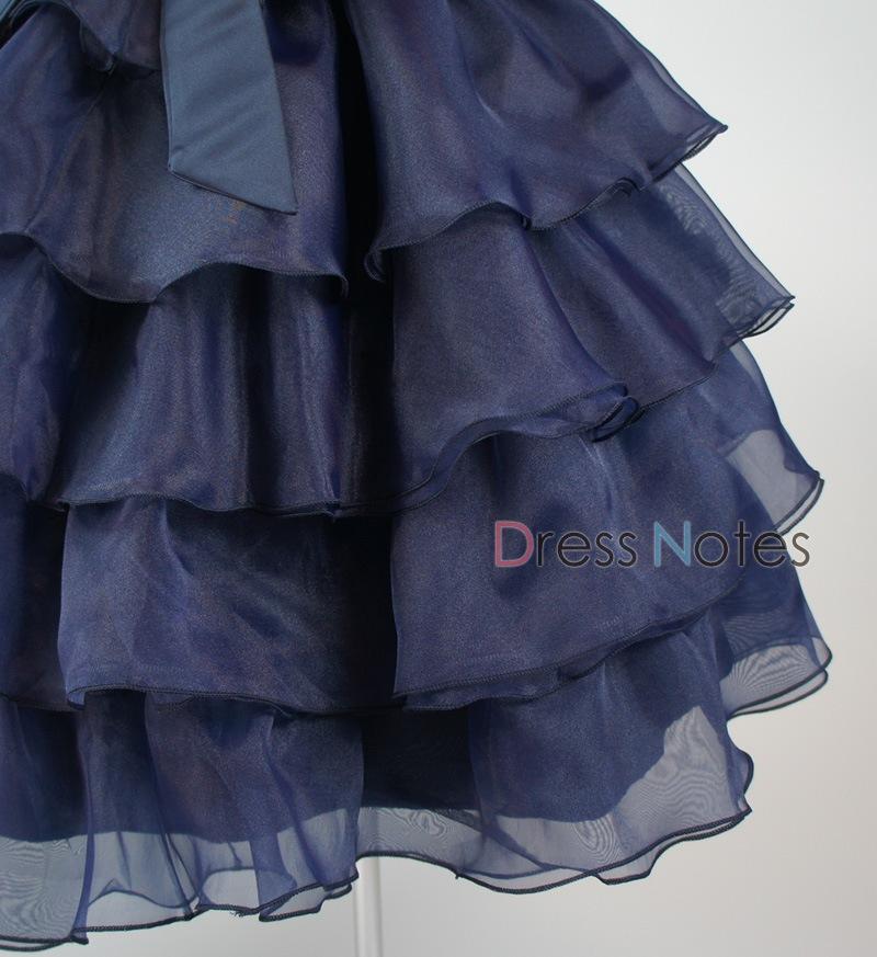 子供ドレス「カンタータ」 ネイビー D8005-3