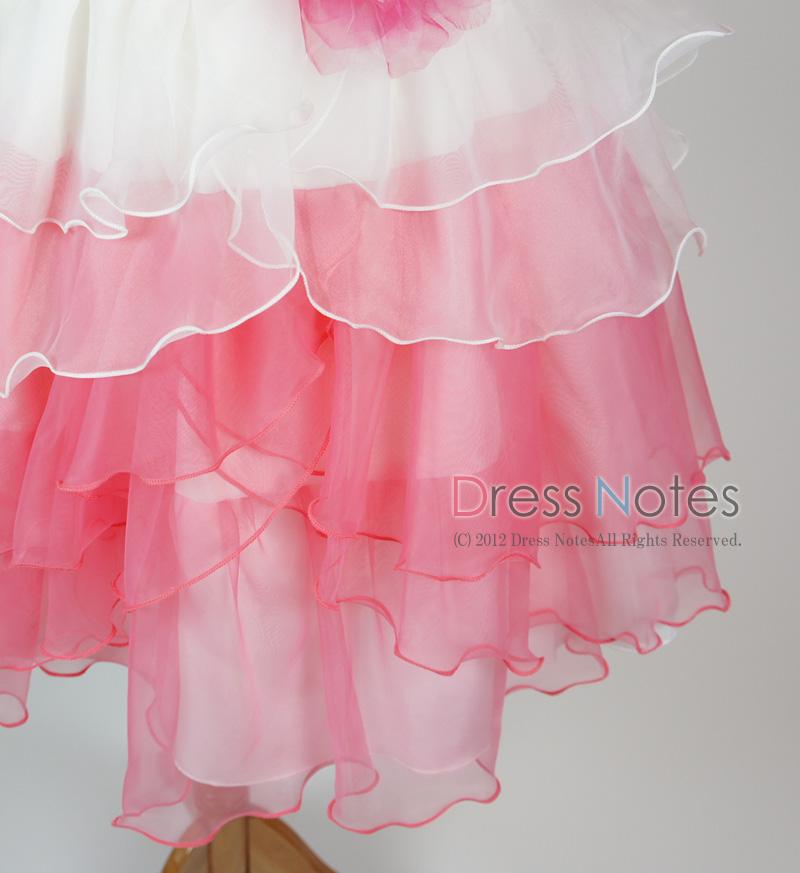 子供ドレス「アリア」ピンク D8006-5