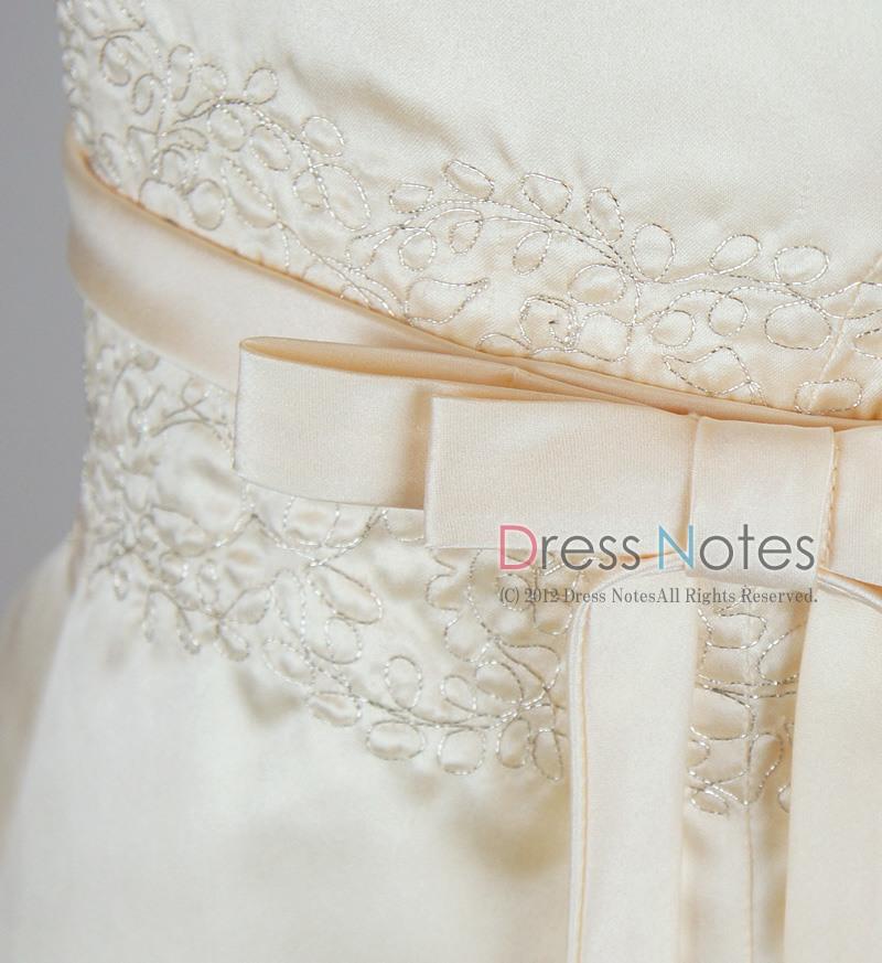 子供ドレス「オラトリオ」アンティックホワイト D8009-3
