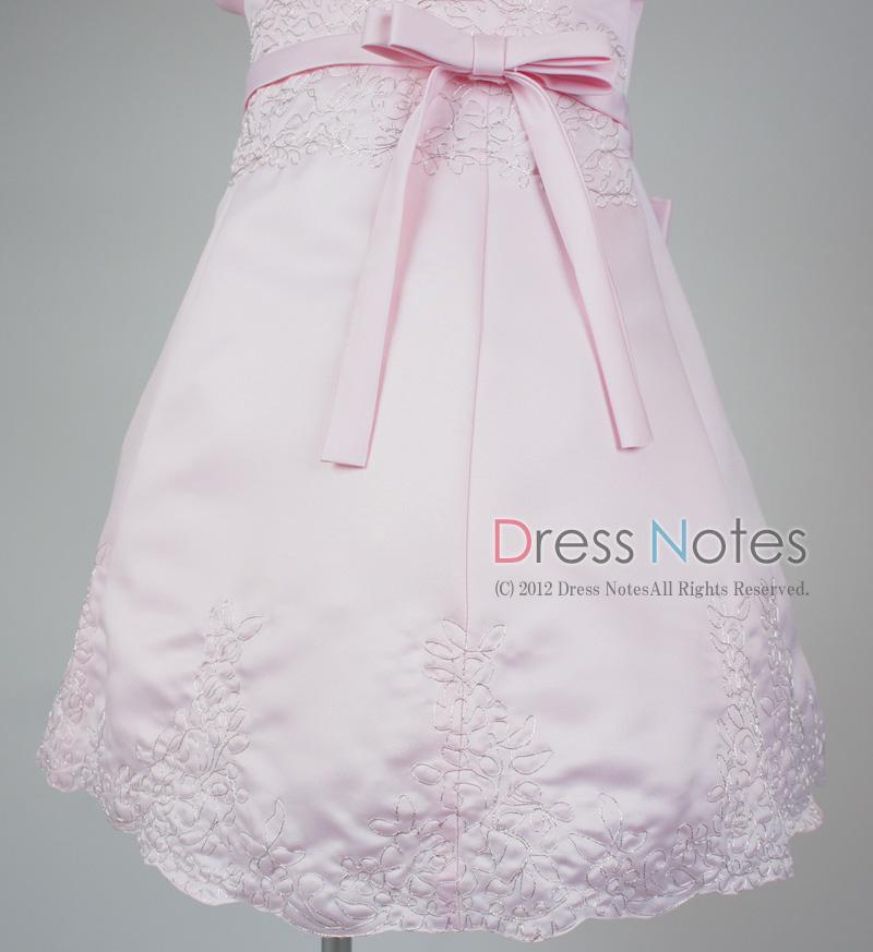 子供ドレス「オラトリオ」ピンク D8010-3