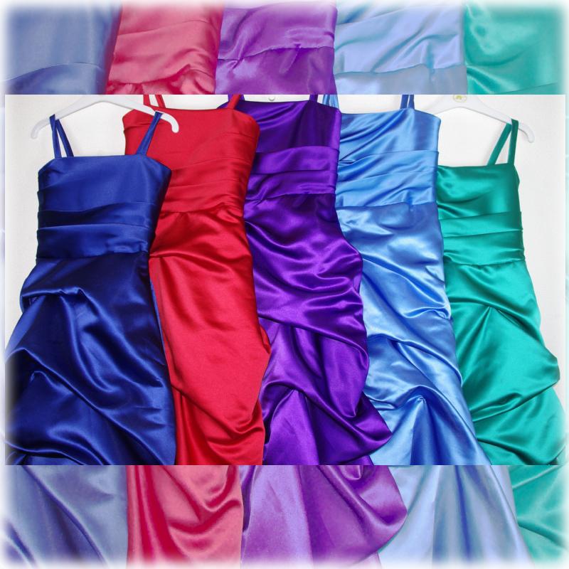 子供ドレス「ロイズ」クイーン・レッド J8002-2