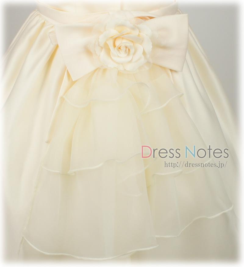 子供ドレス「ファンテーヌ」アイボリー G8015-3