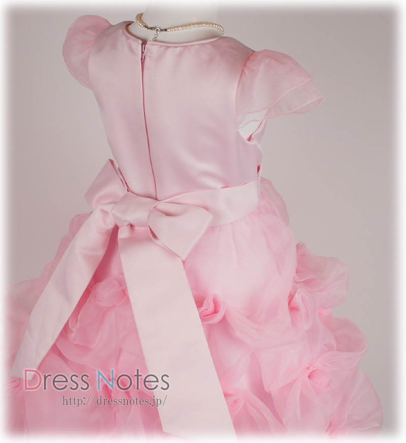 子供ドレス「ハーモニック」ピンク H8014-6