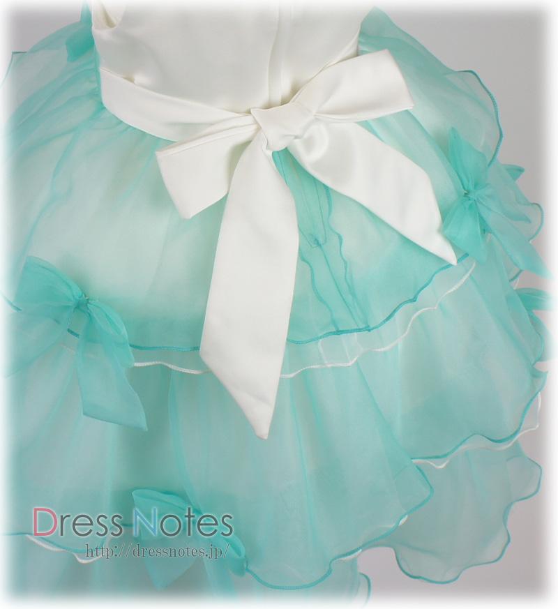 子供ドレス「バダジェフスカ」グリーン G8030-4