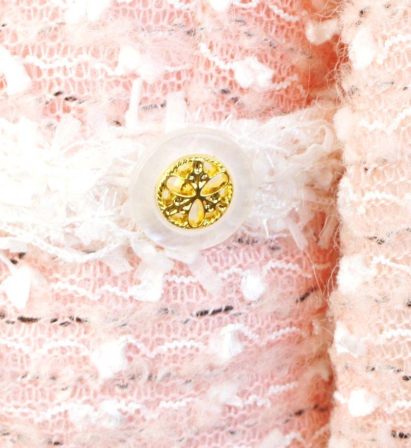 ジャケット「ミルフィーユ」ピンク A7001-5