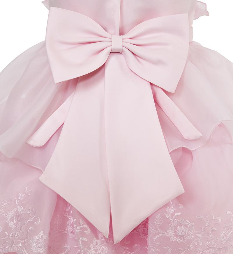 子供ドレス「リエラ」ピンク-6