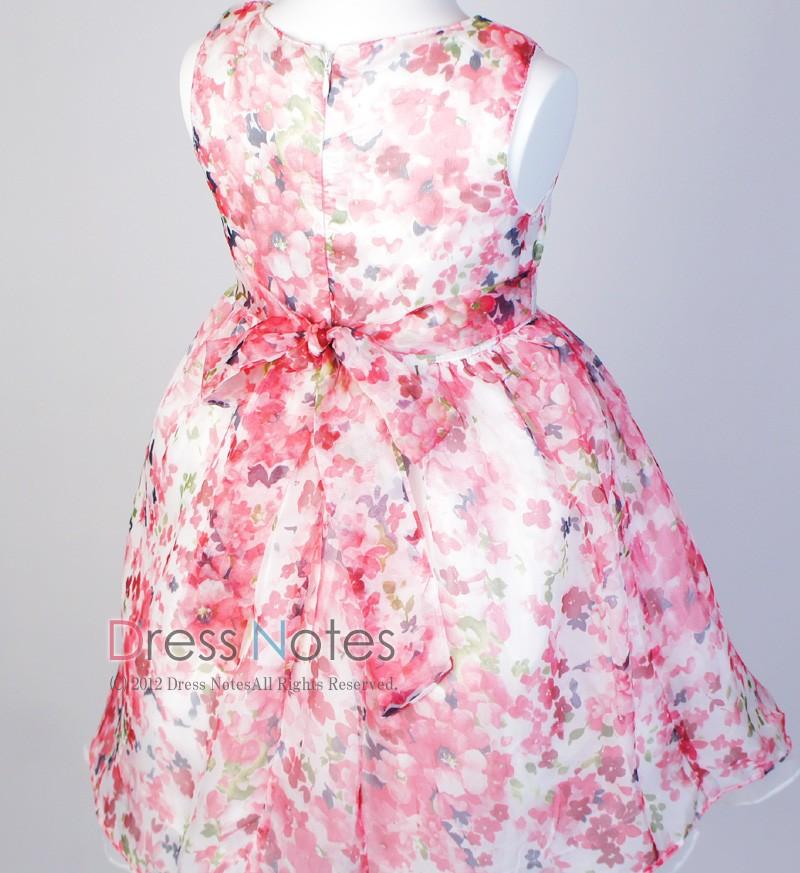 子供ドレス「ソフィ」 ピンク B1027-6