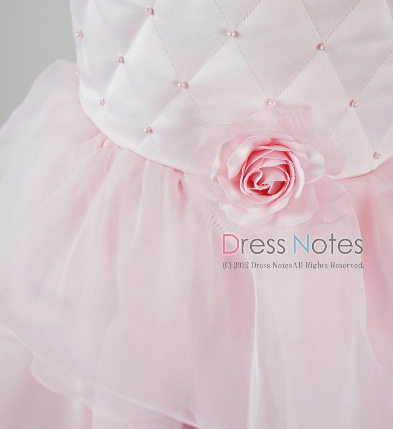 子供ドレス「カンタータ」 ピンク D8004-3
