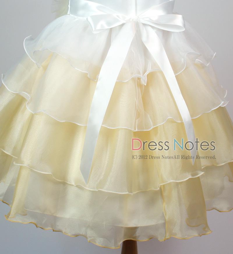 子供ドレス「アリア」シャンパンゴールド D8008-6
