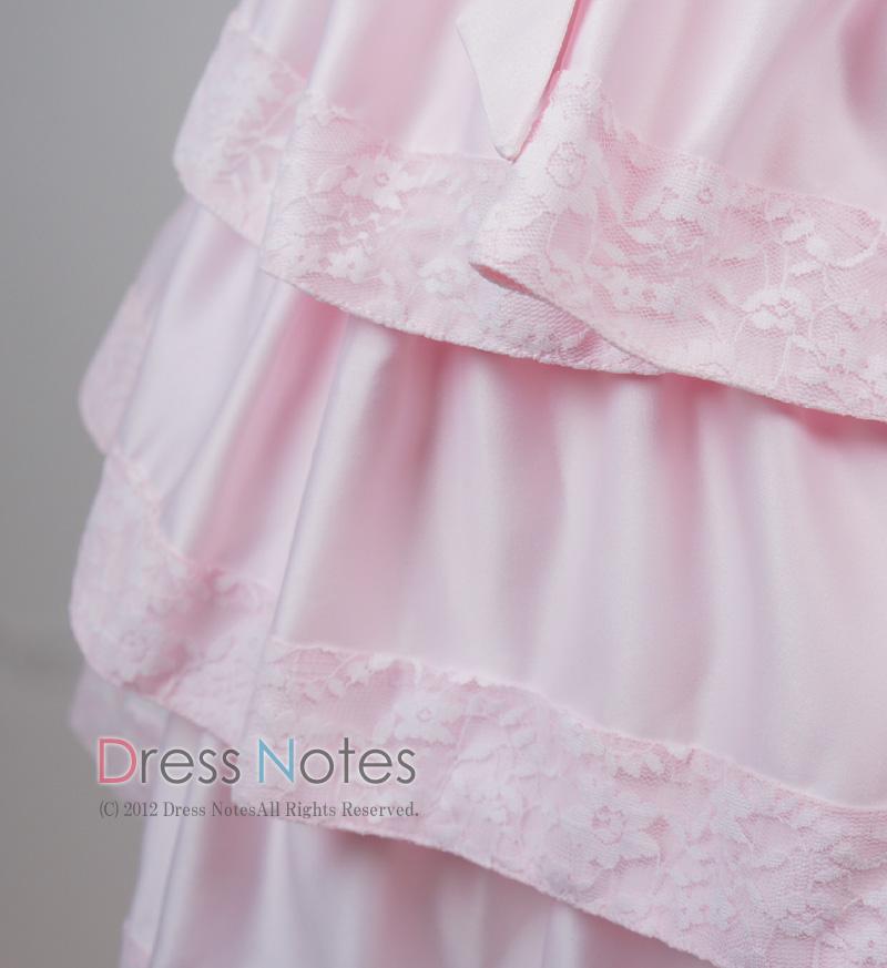子供ドレス「バラード」ピンク D8019-7