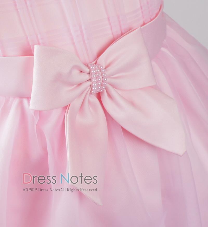 子供ドレス「カノン」ピンク D8012-4