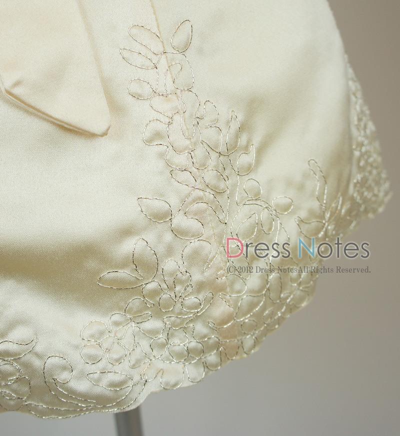 子供ドレス「オラトリオ」アンティックホワイト D8009-5