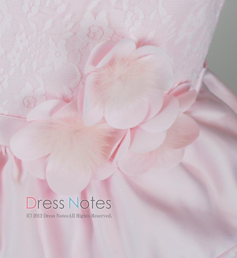子供ドレス「バラード」ピンク D8019-5