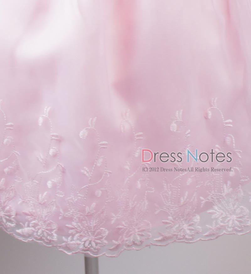 子供ドレス「カノン」ピンク D8012-6