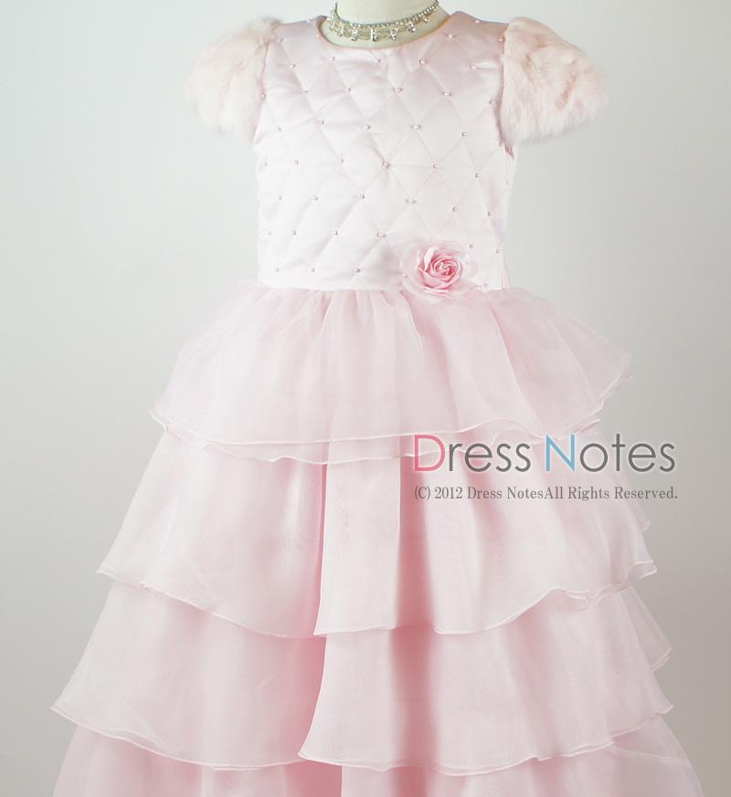 子供ドレス「カンタータ」 ピンク D8004-8