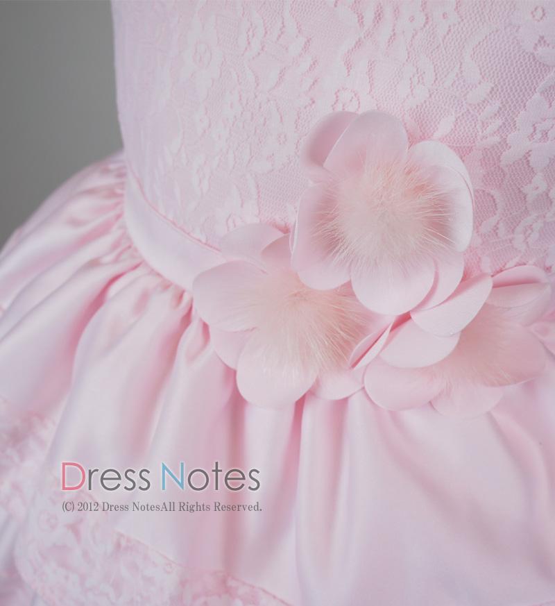 子供ドレス「バラード」ピンク D8019-4