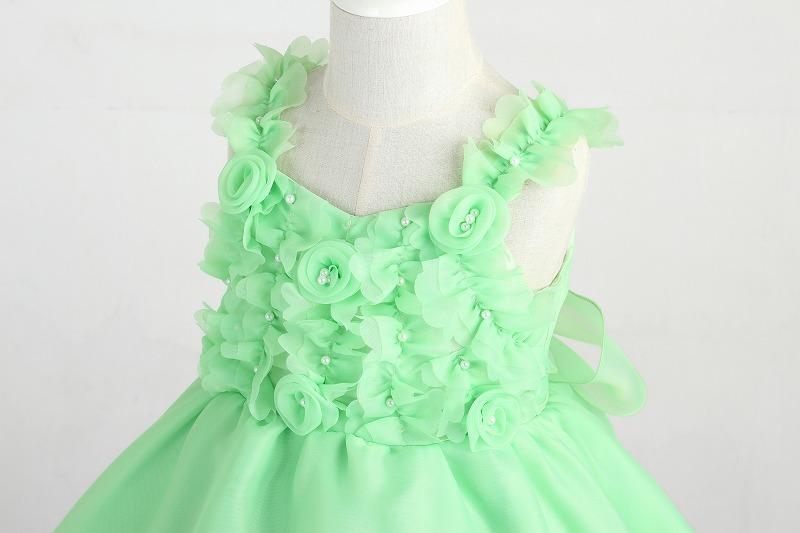 DressNotesのピアノ演奏用ドレス「アイベル2」ライトグリーン dn02_green-3