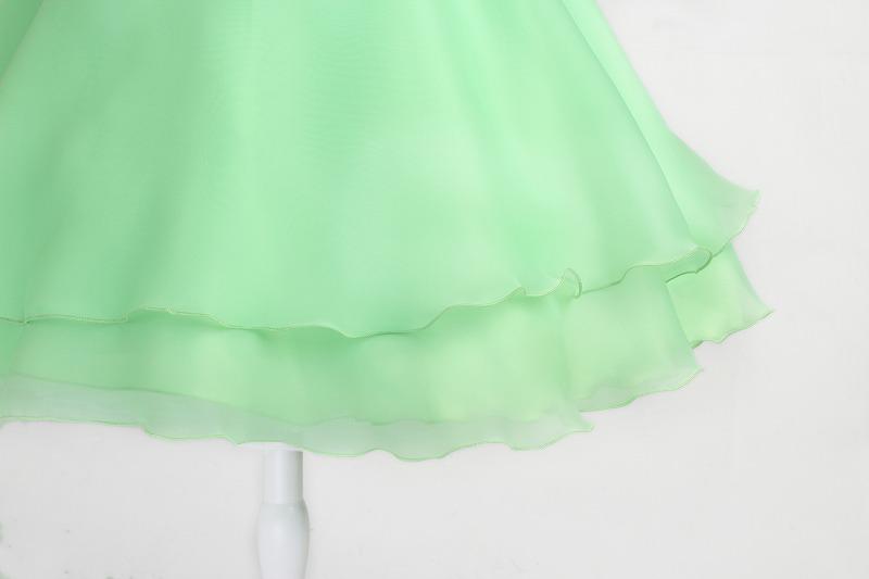 DressNotesのピアノ演奏用ドレス「アイベル2」ライトグリーン dn02_green-5