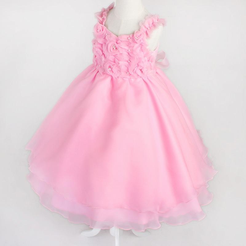 DressNotesのピアノ演奏用ドレス「アイベル2」ピンク dn02_pink-1