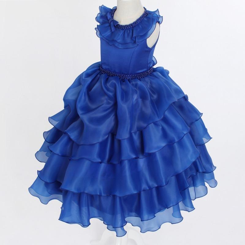 DressNotesのピアノ演奏用ドレス「アルドーレ2」スピリチュアルブルー-1