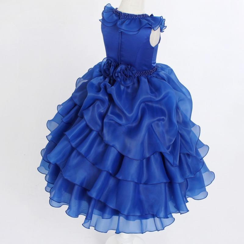 DressNotesのピアノ演奏用ドレス「アルドーレ2」スピリチュアルブルー-7