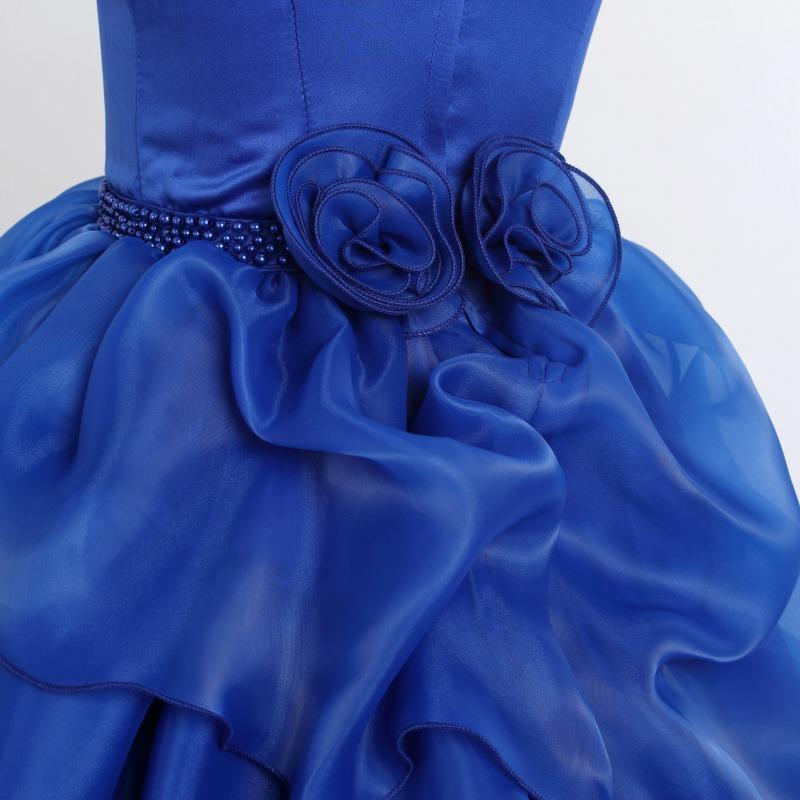 DressNotesのピアノ演奏用ドレス「アルドーレ2」スピリチュアルブルー-8