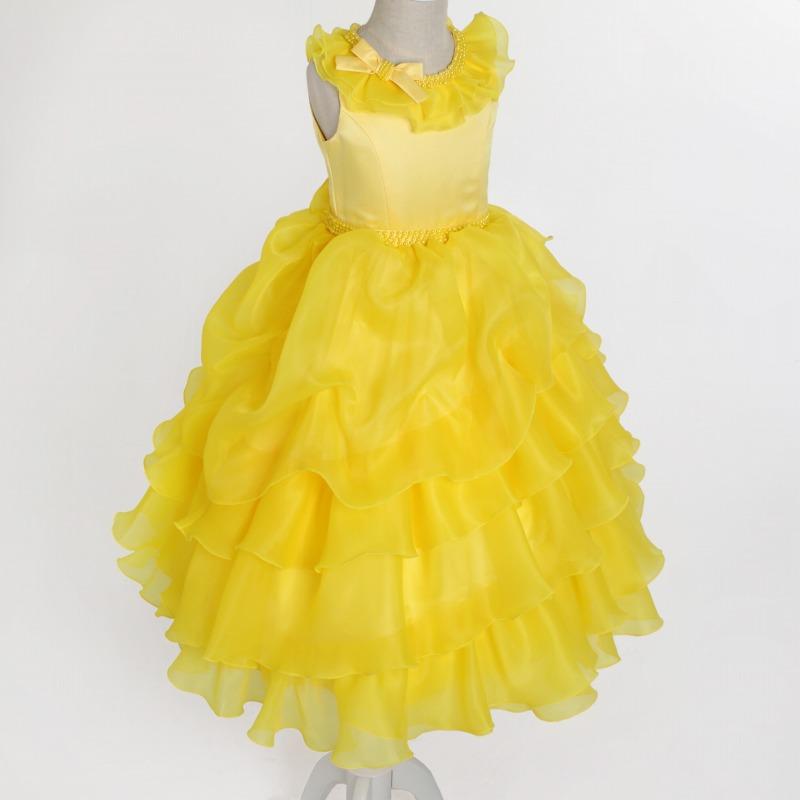 DressNotesのピアノ演奏用ドレス「アルドーレ2」フルムーンイエロー dn01_yellow-1