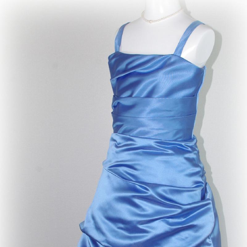 子供ドレス「ロイズ」ノーブル・ブルー J8005