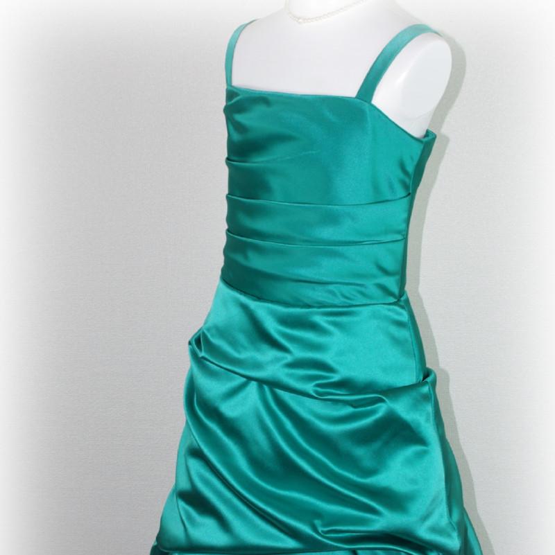 子供ドレス「ロイズ」エンプレス・グリーン J8003