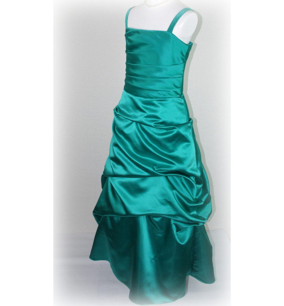 子供ドレス「ロイズ」エンプレス・グリーン J8003-1