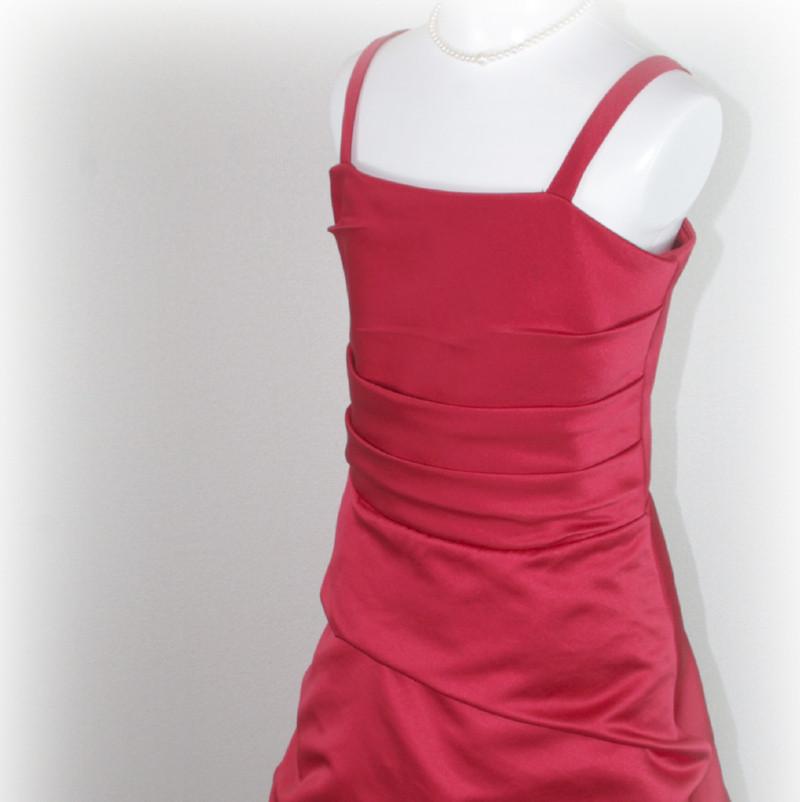 子供ドレス「ロイズ」クイーン・レッド J8002